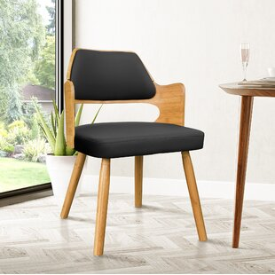 Westley Bamboo Upholstered Dining Chair Brayden Studio