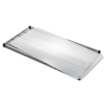 Wfx Utility 36 W X 18 D Shelf Liners For Wire Shelving In Clear Plastic Reviews Wayfair