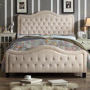 Sieber Upholstered Panel Bed by Winston Porter