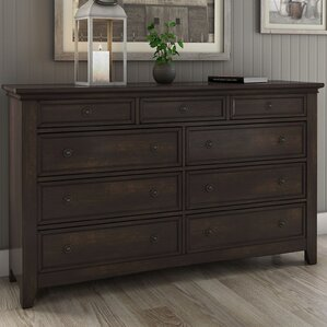 Sefton 9 Drawer Dresser by Three Posts