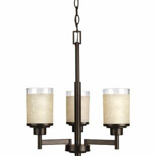 Ebern Designs Nash 3 Light Drum Chandelier
