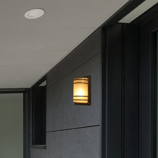 1-Light LED Outdoor Bulkhead Light