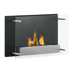 Fellman Wall Mount Ethanol Fireplace by Varick Gallery