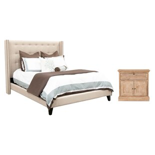 Estancia Upholstered Configurable Bedroom Set by August Grove