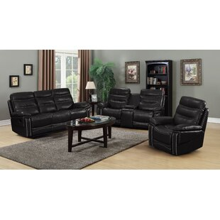 Inexpensive Owings 3 Piece Reclining Living Room Set by Red Barrel Studio Reviews (2019) & Buyer's Guide