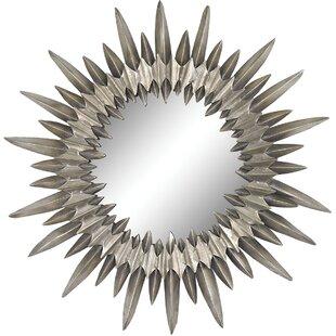 Brayden Studio Metal Accent Wall Mirror