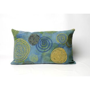 Schuykill Graffiti Swirl Outdoor Lumbar Pillow