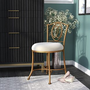 Compare Claughaun Vanity Stool ByMercer41