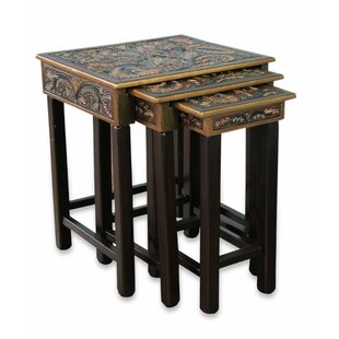 Novica 3 Piece Nesting Tables