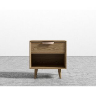 Jake 1 Drawer Night Stand by Foundry Select