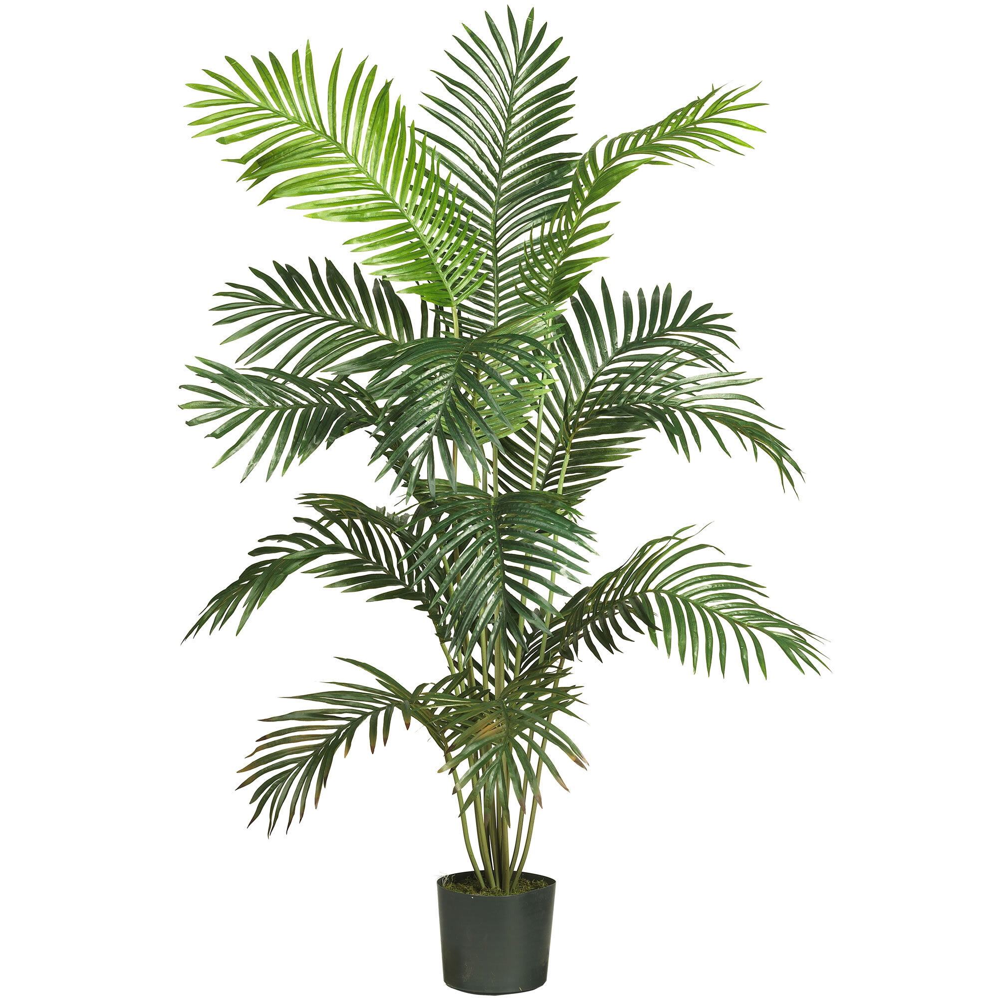 54 5 Artificial Palm Tree In Planter Reviews Allmodern