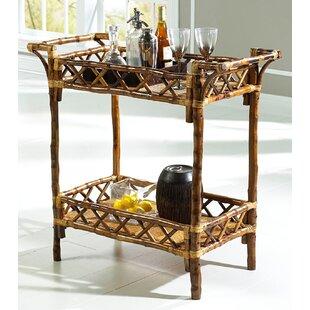 Kenian Coastal Chic Bar Cart