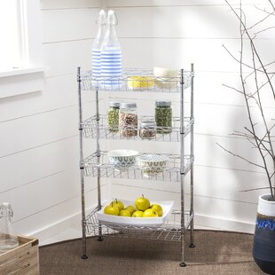 Stainless steel Baker's Rack by Rebrilliant