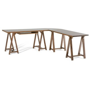 Ine L-Shape Computer Desk by Birch Lane™ Heritage Reviews