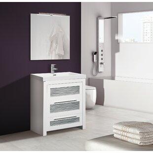 Poppy 800mm Free-standing Single Vanity Unit By Belfry Bathroom