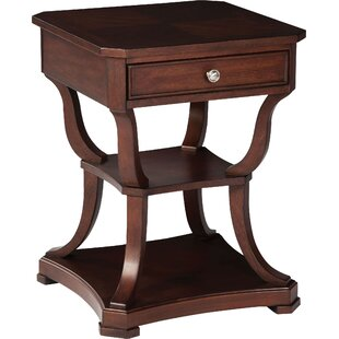 Belmont End Table with Storage