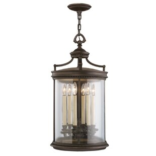 Find a Louvre 6-Light Outdoor Hanging Lantern By Fine Art Lamps