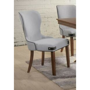 Santoyo Wingback Upholstered Dining Chair (Set of 2) Gracie Oaks