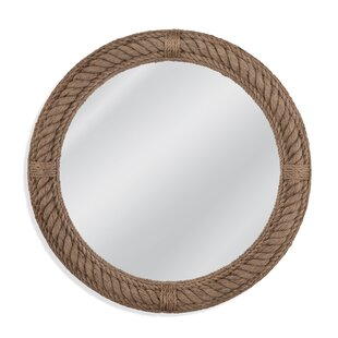 Round Jute Rope Boothbay Wall Mirror