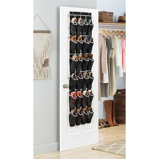 Affordable 12 Pair Overdoor Shoe Organizer By Rebrilliant