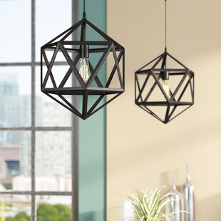 Wrought Studio Gurney Slade 1-Light Geometric Pendant