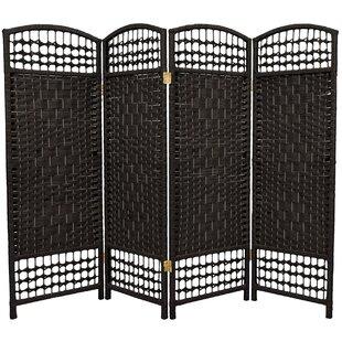 Ryant 4 Panel Room Divider by Bloomsbury Market