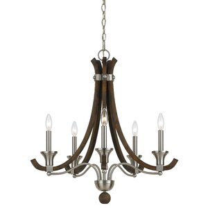 Wexford 5-Light Candle-Style Chandelier