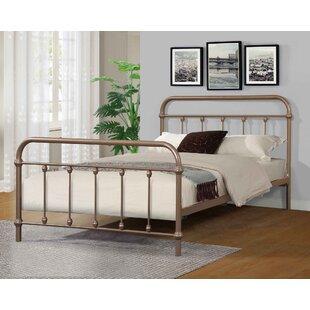 Symple Stuff Waldron Metal Twin Platform Bed