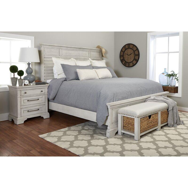 R&R Sleigh 5 Piece Configurable Bedroom Set