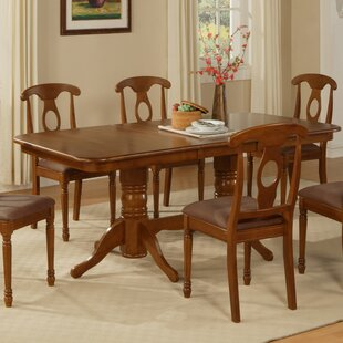 Pillsbury Traditional Solid Wood Dining Table August Grove