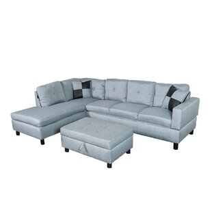 Read Reviews Richview Sectional with Ottoman by Charlton Home Reviews (2019) & Buyer's Guide