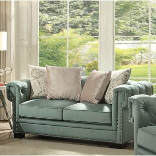 Lessman Loveseat by Rosdorf Park Best Choices