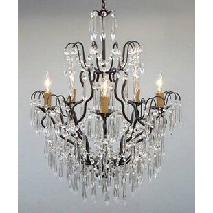 Compare & Buy Karp 5-Light LED Candle Style Chandelier By Ophelia & Co.
