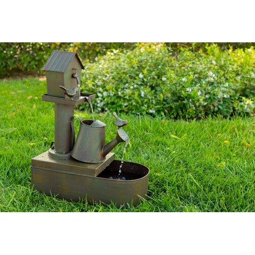 Rustic Metal Lawn Sprinkler
