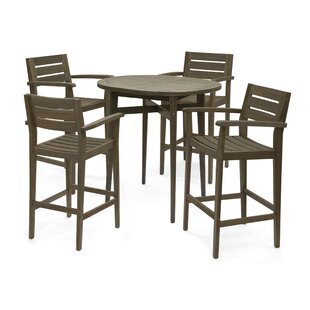Bennett 5 Piece Bar Hight Dining Set
