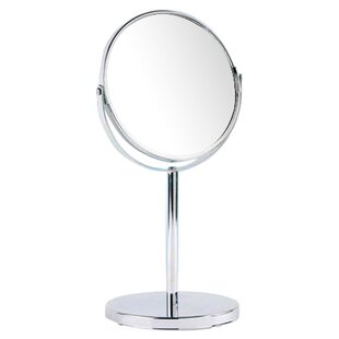 Free Standing Magnifying Cosmetic Mirror