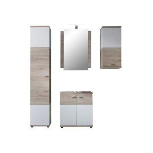 Nikolas 4 Piece Bathroom Furniture Set By 17 Stories