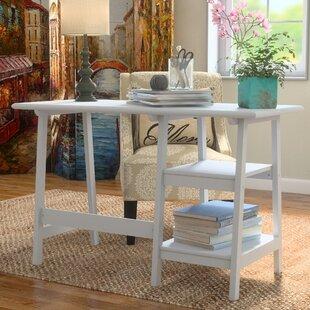 Bristol 2 Shelf Writing Desk by Andover Mills