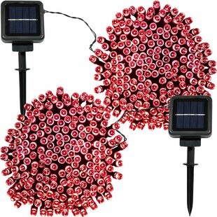Comparison Boswell LED Solar Powered String Light By The Holiday Aisle