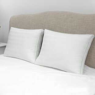 Sexton Plush Gusseted Medium Standard Bed Pillow (Set of 2)