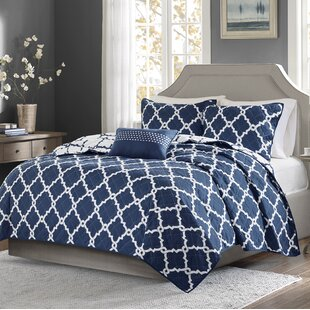Thea 4 Piece Reversible Coverlet Set