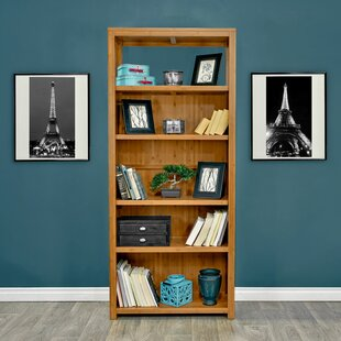 Fleta Bamboo Standard Bookcase by Latitude Run Modern