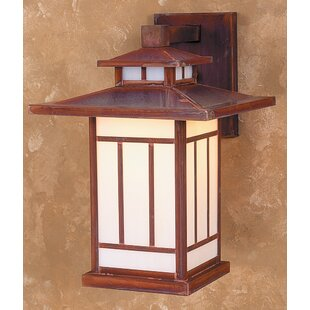 Kennebec 1-Light Outdoor Wall Lantern