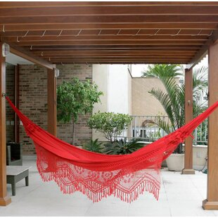 Solid Cotton Tree Hammock