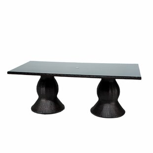 Stratford Glass Dining Table by Sol 72 Ou..