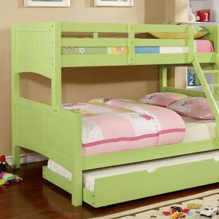 Reviews Callaway Bunk Bed with Trundle By Zoomie Kids