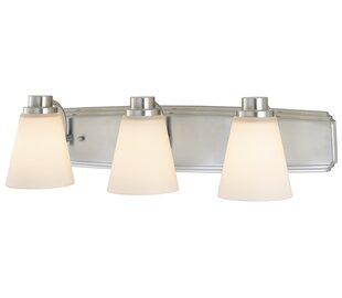 Buy clear Beddingfield 3-Light Vanity Light By Darby Home Co