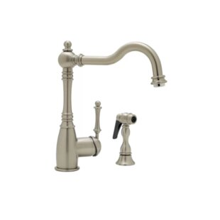 Blanco Grace Single Handle Kitchen Faucet with Side Spray