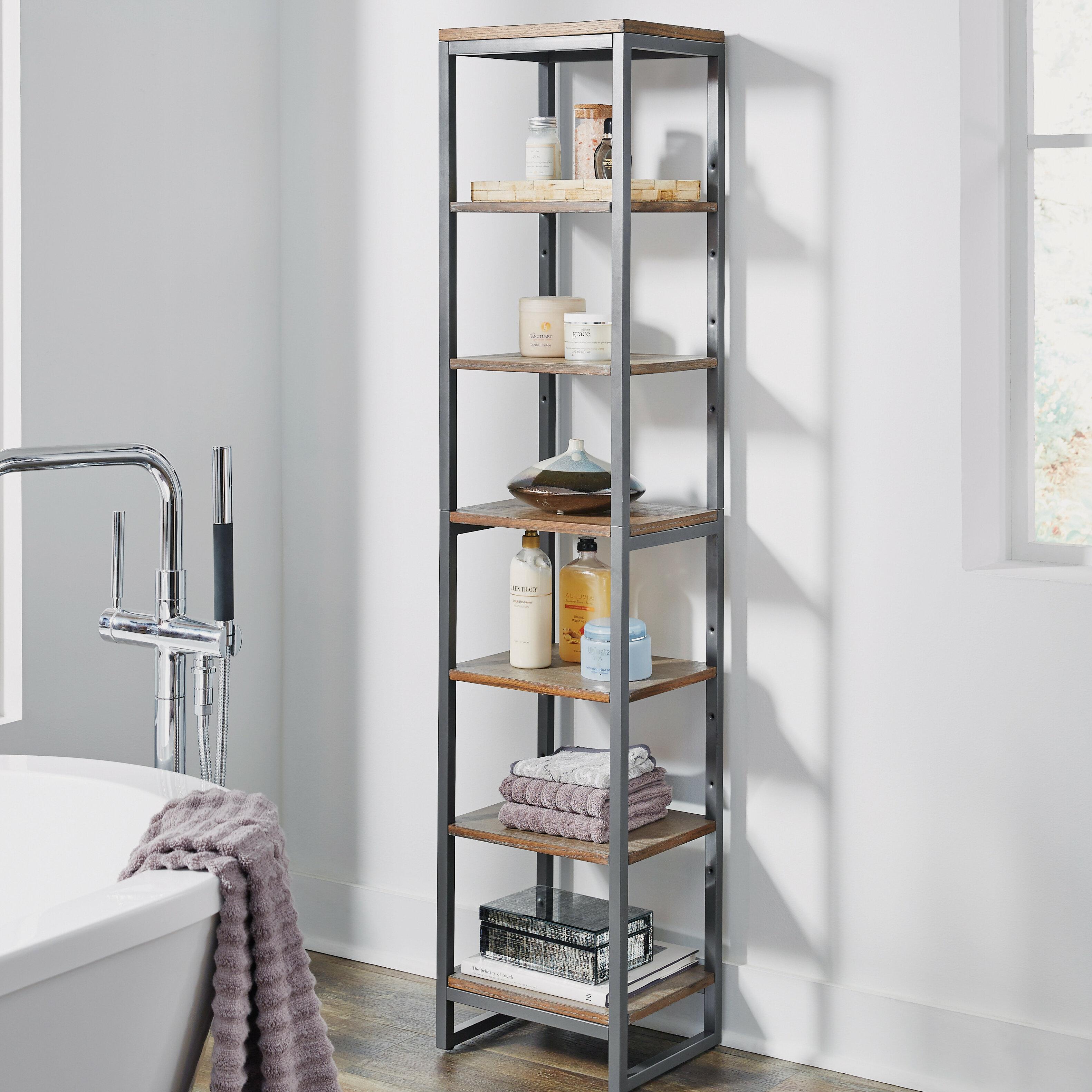 """Eckles 10"""" W x 10.10"""" H Bathroom Shelf"""