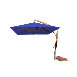 Rikard 10' Square Cantilever Umbrella By Charlton Home